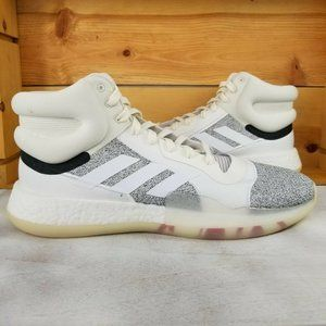 adidas Marquee Boost Mens Basketball Shoes White